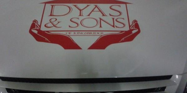 Logo on New Van